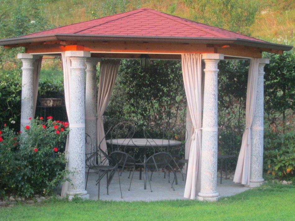Arredo giardino coedil marmi montegrino valtravaglia for Gazebo arredo giardino