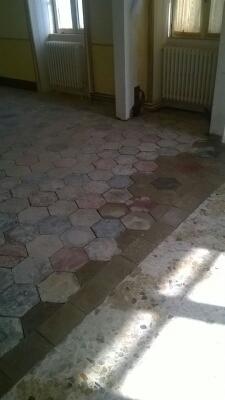 Restauro pavimenti cementine by Coedil marmi Montegrino Varese