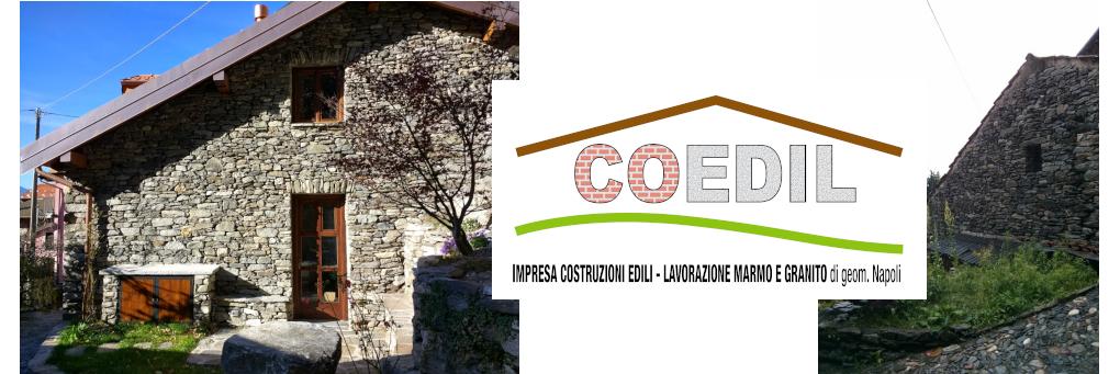 Ristrutturazione baita in pietra by Coedil